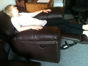 A Therapist In The Reclining Chair